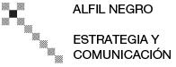 Alfil Negro - Estrategia y comunicación